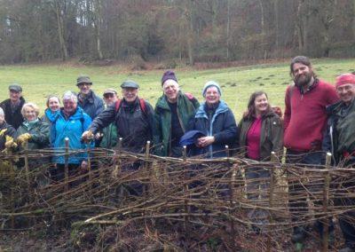 Volunteers Ropewalk Hedge